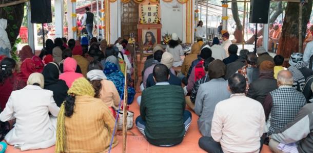 योगदा सत्संग मठ में मना परमहंस योगानन्द का जन्मोत्सव, भक्ति रसधारा में डूबे श्रद्धालु