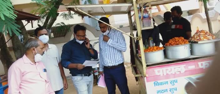 जनता की सेहत के साथ खिलवाड़ बिना लाइसेंस के ही रांची के मोराबादी मैदान में चल रहे 65 फूड वेंडर्स