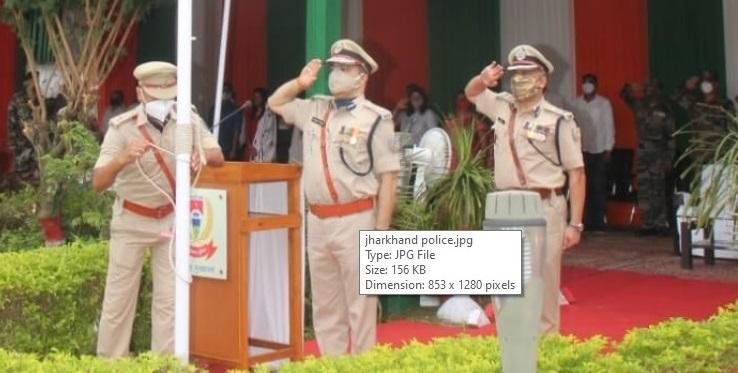 स्वतंत्रता दिवस के 75वें दिवस पर पुलिस मुख्यालय में DGP के सामने हुआ राष्ट्रीय ध्वज का अपमान