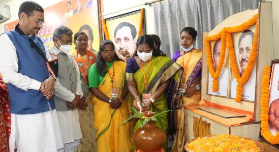 वानथी श्रीनिवासन ने कहा – मोदी सरकार की नीतियों में महिला सशक्तिकरण की प्राथमिकता, रांची में भाजपा महिला मोर्चा प्रदेश कार्यसमिति की बैठक सम्पन्न